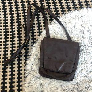Hobo brown crossbody bag